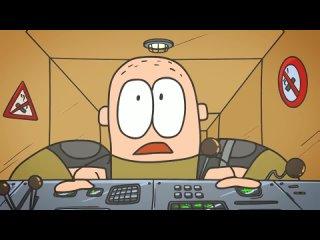 Танковый экипаж : Не курить! | анимация | мультики про танки