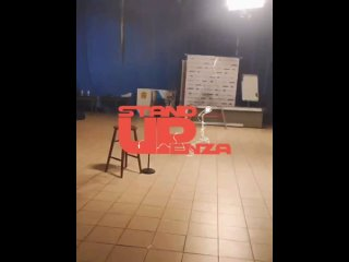 Съёмка стендапа для ТВ. Бэкстейдж.mp4