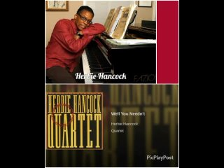 Herbie Hancock Мой фильм  album- Quartet- Well You Neednt