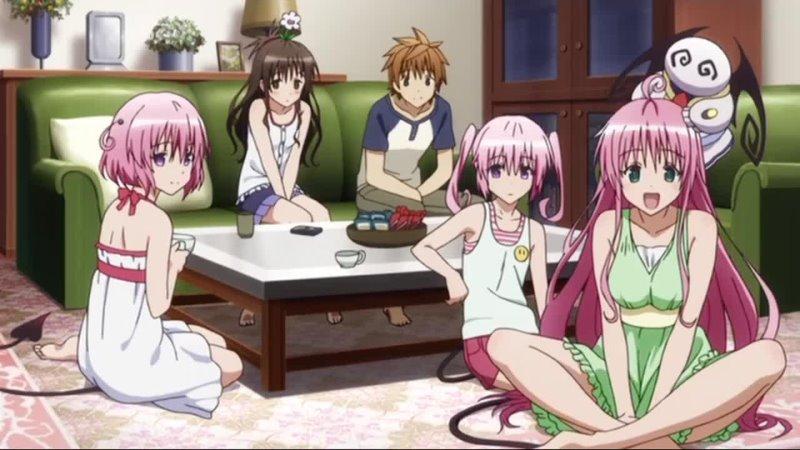 Озвучка 1 серия Любовные неприятности Тьма 2 OVA To LOVE Ru Darkness 2nd OVA Amazing Dubbing