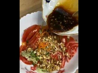 Самый вкусный салатик по-тайски!