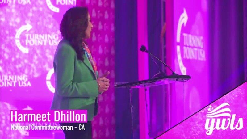 TPUSA · Abogada Harmeet Dhillon en la Cumbre de Liderazgo para Mujeres Jóvenes 11 junio 2021