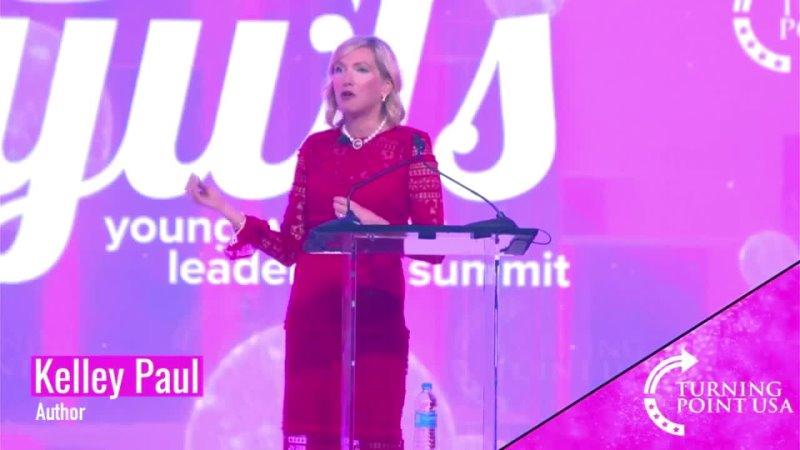 TPUSA · Escritora 'anti socialista' Kelley Paul en la Cumbre de Liderazgo para Mujeres Jóvenes