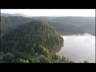 Симская долина с высоты птичьего полета