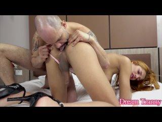 DreamTranny Bianca Ruiva Bianca Ruiva's Butt Gets Blasted Transsexuals, Shemale, Anal, Bareback, Big Tits, Blowjob, Cumshot