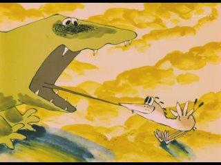 Веселая карусель. №12. Карандаш и ластик. Что случилось с крокодилом. Эхо. 1982