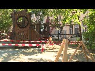 Детские площадки. Анонс программы «Неделя в Петербурге»