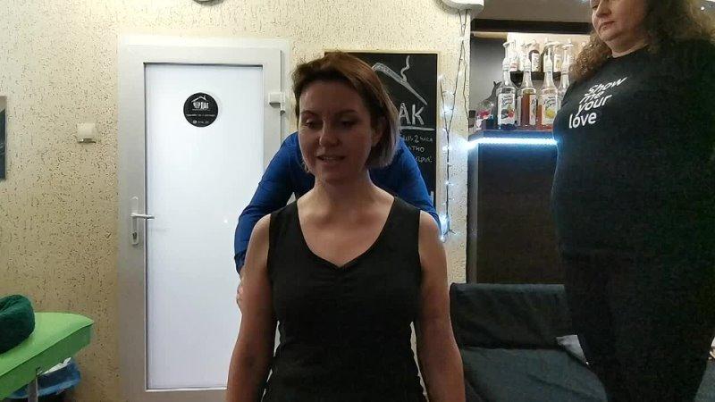 До После Разблокировки атлантозатылочного сустава у Андрея Малышева в Архангельске mp4