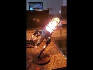 Творческий светильник в стиле лофт Ракета 🔥