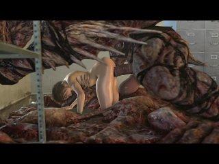 3D Monster Jill Valentine in BIG Trouble Rrostek  Resident Evil Hentai 720p Rule 34 Video