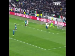 Голы Роналду за Ювентус в Лиге чемпионов