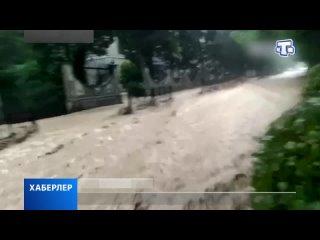 В Ялте реки вышли из берегов: один человек погиб