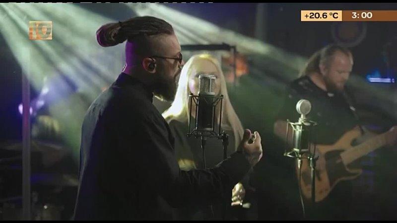 Burito Лариса Долина Капкан Live 10 канал Музыкальная ночь