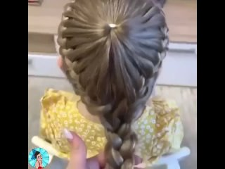 Симпатичная прическа для дочки