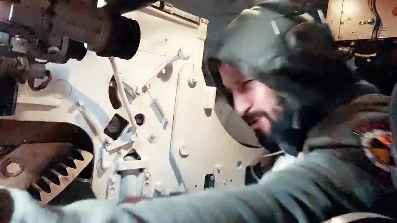 Самоходная гаубица Гвоздика 122 мм Расстрел блиндажа со 150 метров