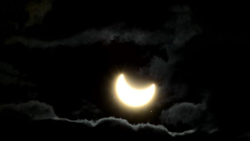 Солнечное затмение Усть Илимск 10 06 2021