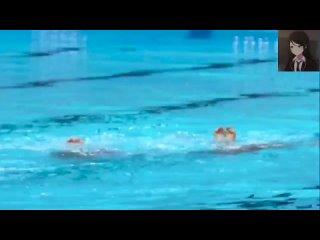Выступление синхронисток на Олимпиаде под песню Хатсуне Мику и сейю Ичики, Кохане и Канаде