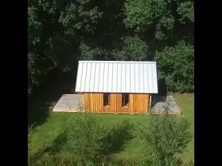 Интересный концепт трансформируемого летнего дома 🌿