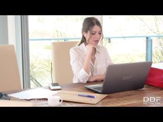 Rebecca Volpetti - Home Office Anal Intercourse [All Sex, Hardcore, Blowjob, Gonzo]