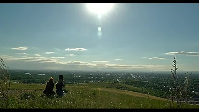 Жители Хакасии смогли увидеть солнечное затмение