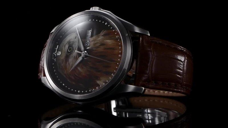 Мужские швейцарские часы L'Duchen Falcon Art Collection