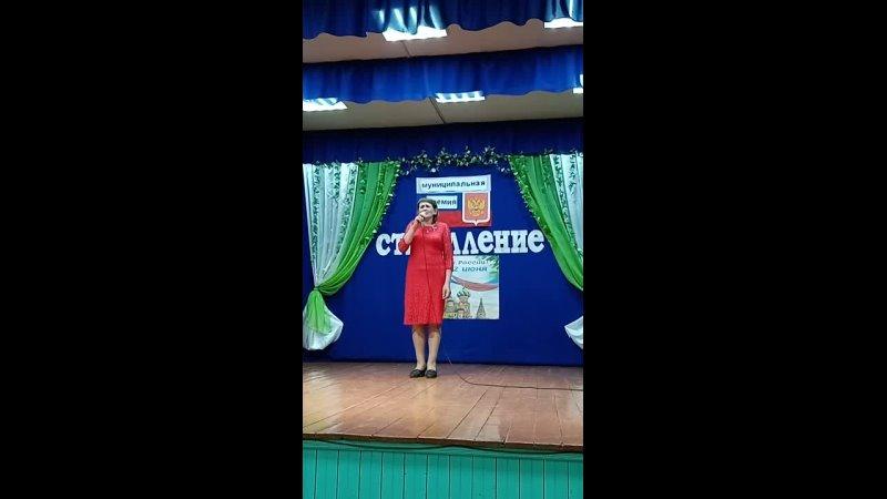 Крылова Светлана в церемонию Стремление 2021 в Сурском ДК
