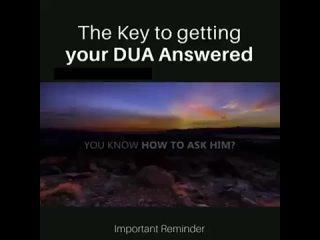 Duaa Prayer