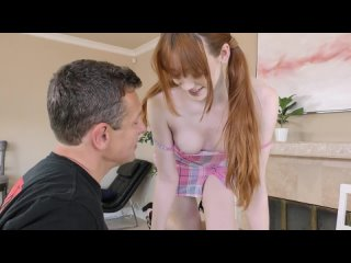 Michelle Anthony - Redhead Gives The Officer Her Pussy For Testing [All Sex, Hardcore, Blowjob, Gonzo]
