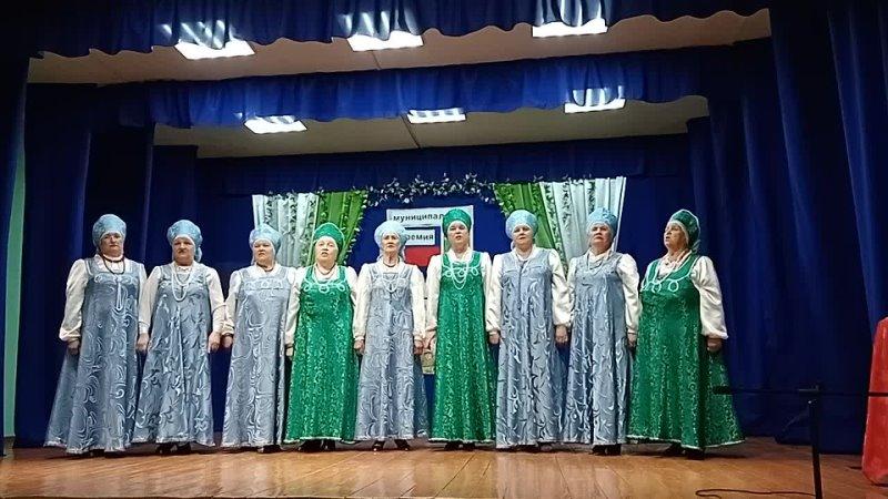 Коллектив Рябинушка в церемонии Стремление 2021 в Сурском ДК