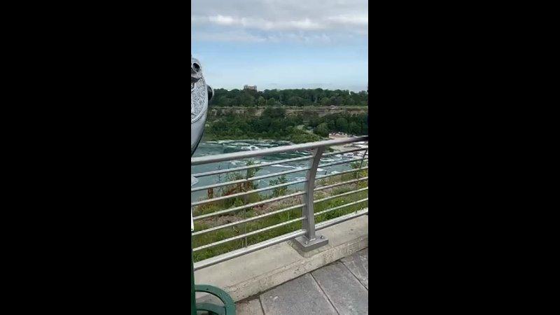 Niagara Falls New york အလှဆုံး နေရာ ပထမပိုင် 360p mp4