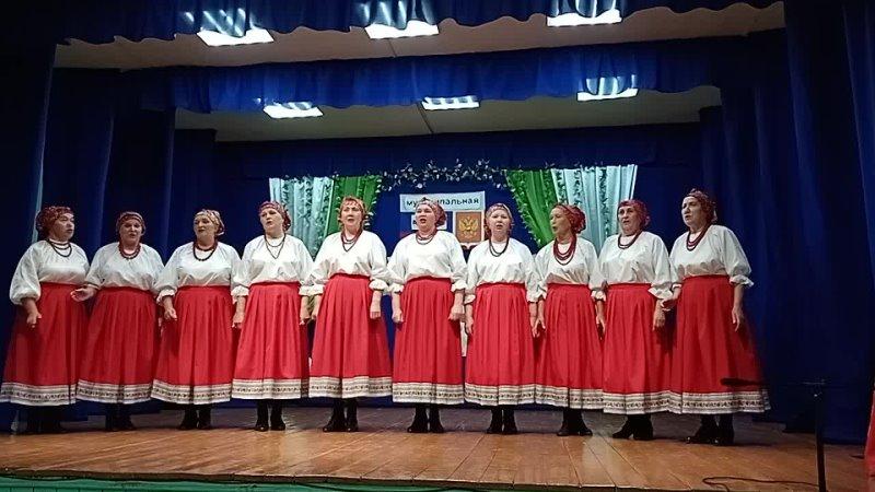 Народный коллектив Отрада с песней на церемонии Стремление 2021 в Сурском ДК
