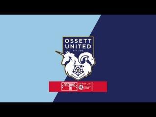 Ossett United - Stockton Town, goal Walshaw