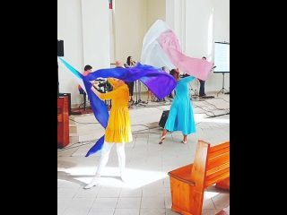 """Прославление в танце. Церковь """"Благодать"""" (СПб, Ленинский пр. 113)"""