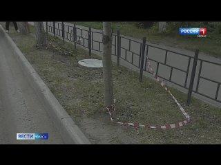В Омске подросток провалился в открытый колодец