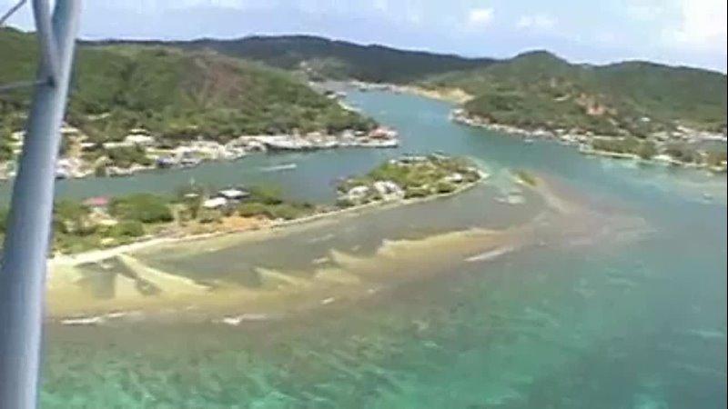 Aerial Tour of Roatan Honduras