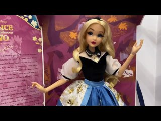 Обзор на куклу Алиса от Disney Limited Edition Doll  - 70th Anniversary Mary Blair
