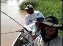 Не простая рыбалка у дедушек