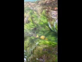 Колодец водопада Атыш