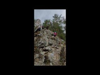ТурСлёт рабочей молодёжи 2021 | Маша прыгает со скалы