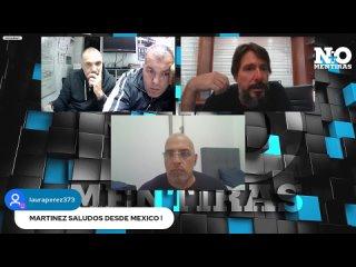 FERNANDO FERREIRA, MEDICO LUIS MARCELO MARTINEZ Y EL MEDICO JAVIER SCIUTO.