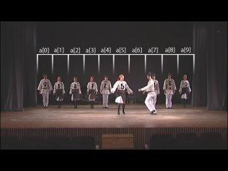 Алгоритмы сортировки в танцах [1] Сортировка пузырьком как венгерский народный танец