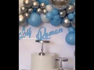 109pcs Macaron синих латексных шаров арки комплект гирлянды
