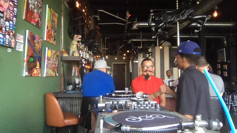 Vincent Patricola LIVE from Stache International in Historic Eastern Market Music from Detro