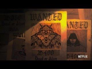 The Witcher: Nightmare of the Wolf (Trailer) / Ведьмак: Кошмар Волка (Трейлер) | Dejz, SlivciS & JazzJack [AniLibria]