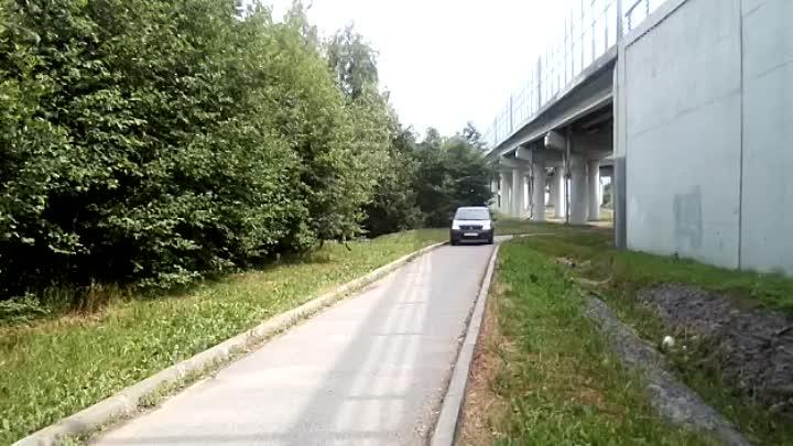 """29 июня, в 10:56 часов водитель авто """"Рено"""", ради сокращения дороги проехал по пешеходной дорожке от..."""