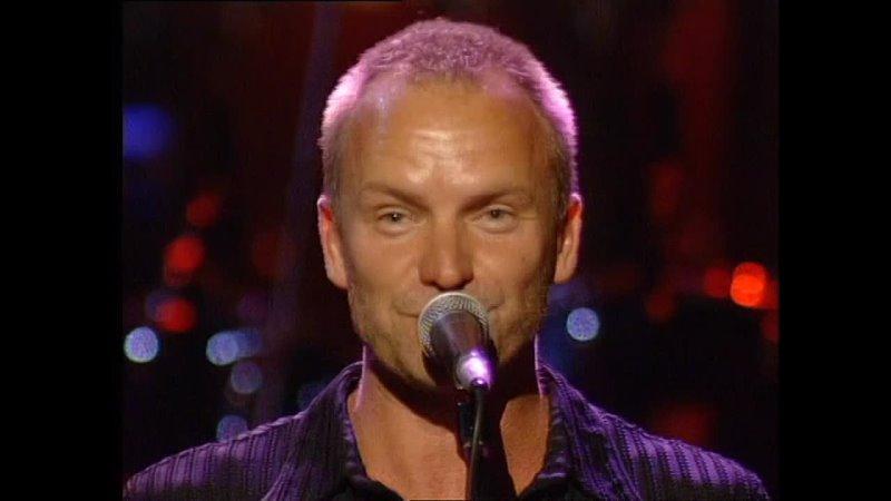 P Collins Sting Music For Montserrat The Royal Albert Hall 1997