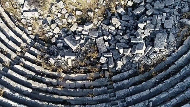 040 Connection Radio Show Burak Yeter Ancient Roman amphitheater in Termessos Antalya province Turkey SunExpress Live Set