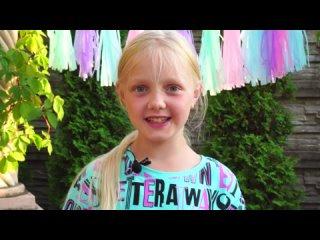 День рождения Little Stars | Поздравление от детей