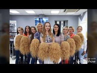 Видео от Курсы парикмахеров стилистов визажистов| Эльгрет