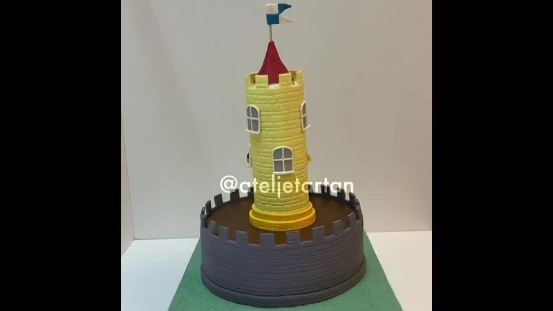 Торт в стиле Маленького королевства Бена и Холли Наша группа во ВКонтакте ULTRACAKES
